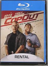 Bruce Willis in Cop Out on Blu-ray