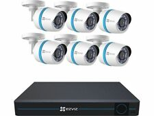 EZVIZ 8 Channel 1080p IP Security System with 2TB HDD and 6 Weatherproof 1080p P