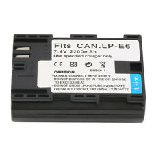 NEW Replacement 7.4V 2200MAH Rechargeable Li-Ion Battery for CANON LP-E6+ OE