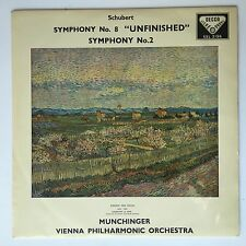 DECCA SXL 2156 ED1 SCHUBERT  SYMPHONY NO.8 UNFINISHED VPO MUNCHINGER