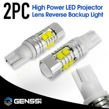White T10 50W CREE XB-D High Power LED Projector Lens Reverse Backup Light 921