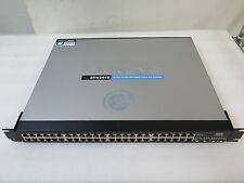 Cisco Linksys SRW2048 48-port WebView Gigabit Ethernet Managed Switch w/Rackears