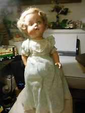 "Madame Alexander 1937 composition 17"" Princess Elizabeth  doll"
