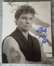 8X10 Autographed by Martin Kove in The Karate Kid