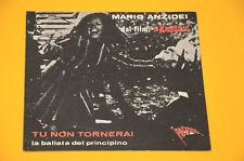 """7"""" 45 (NO LP ) SOLO COPERTINA MARIO ANZIDEI DAL FILM IL MAGNACCIO ORIG 60 EX+"""