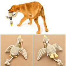 Funny Pet Puppy Chew Squeaker Squeaky Plush Sound Duck For Dog Toy PLAY Nontoxic