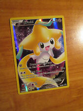 NM FULL ART Pokemon Mythical JIRACHI Card Black Star PROMO XY112 Collection Box