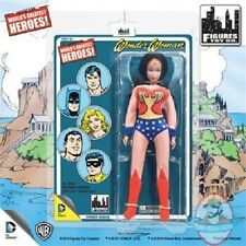 Wonder Woman Retro 8 Inch Action Figure Mego-Like Artwork Figures Toy