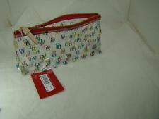 Dooney & Bourke It On the Go Cosmetic Case   clear/multi  new with tag $48