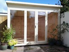 10x8 home office summerhouse inulated double glazed options studio