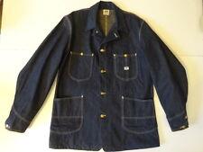Vtg OG 40s 50s Lee 91-J Denim Coverall Jacket 40 Union Made SANFORIZED Deadstock