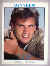 Lorenzo Lamas for JPG by Jean-Paul Germain PRINT AD - 1984
