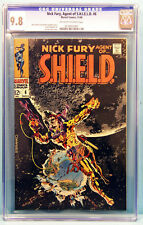 NICK FURY, AGENT OF S.H.I.E.L.D.#6 CGC 9.8 Highest Graded Classic STERANKO Cover