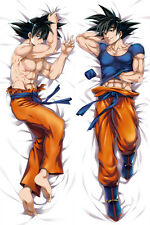 Japanese Anime Dragon Ball Z Son Goku Male Dakimakura Pillow Case Hugging Body