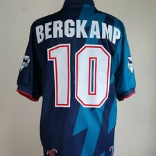 Arsenal Away Football Shirt Adult Large BERGKAMP #10 1995/1996