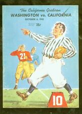 1945 Washington @ California college football program