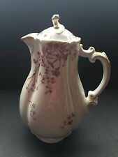 RARE VTG Haviland & Co. LIMOGES Coffee/chocolate Pot With Floral Design