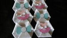 30PC Baby Shower Dirty Diaper Game Gender Reveal Girl or Boy   SAFETY PINS INCL