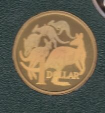 2004 $1 Proof Coin Kangaroo design in Holographic format a world first Australia