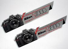 NIKON N2000 STICKERS SET OF 2