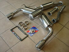 Top Speed Pro-1 70mm Street Spec Y-Pipe back Exhaust Systems FX35 FX37 SUV 09-14