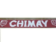CHIMAY BREWERY BANNER SIGN 18 FEET LONG!