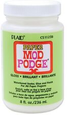 Plaid  Mod Podge DECOUPAGE Paper Gloss Finish 8oz CS11238