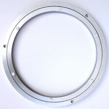 "10"" Inch 255MM LAZY SUSAN ROTATING ALUMINIUM TURNTABLE BEARING ROUND - UK"