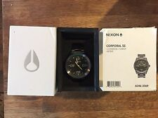 Nixon Corporal SS A346-1062-00 Wrist Watch for Men