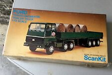 VINTAGE# SCANKIT MODEL KIT FORD TRANSCONTINENTAL TRAILER TRUCK 1/72#NIB