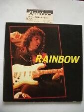 RAINBOW 1984 JAPAN TOUR BOOK CONCERT PROGRAM w/ Ticket Stub Ritchie Blackmore