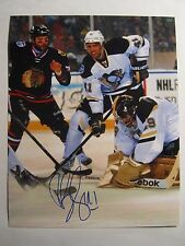 Robert Bortuzzo AUTOGRAPH photo PITTSBURGH PENGUINS signed 8x10 COA