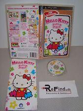 HELLO KITTY PUZZLE PARTY PSP PLAYSTATION RARO