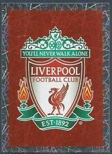 TOPPS 2016 PREMIER LEAGUE #165-LIVERPOOL TEAM BADGE
