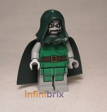 Lego Dr. Doom de set 76005 daily bugle super Hereos spider-man médecin sh052