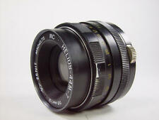 Good used MC HELIOS 44M-7 2/58 M42. 8 aperture blad. Best resolution Early model