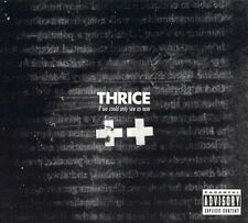If We Could Only See Us Now [PA] [CD & DVD] by Thrice (CD, Mar-2005, 2 Discs,...