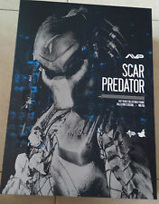 Hot Toys MMS190 Alien vs Predator AVP 1/6 Scar Predator Version 2 (Brand New)