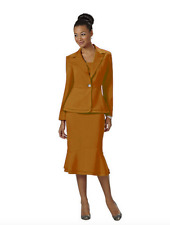 Wear Abouts Women's 2-pc. Cutout Skirt Suit Size 16 Brand New NWT