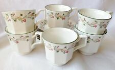Eternal Beau Tea Cups and Saucers x 6 - Johnson Brothers - Vintage - Multiple