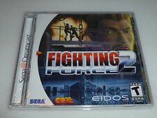 BRAND NEW FACTORY SEALED SEGA DREAMCAST GAME FIGHTING FORCE 2 EIDOS  NFS