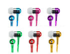3.5mm Tangle-Free Zipper Earphone Headset Earbud for Smartphone Iphone Sumsung