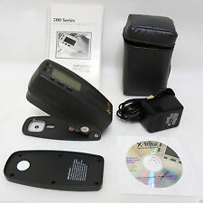 X-Rite 530 Color Spectrophotometer Densitometer XRGA and Panton color Xrite530