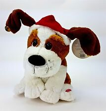 "Christmas Dog Singing Dancing Animated Plush Stuffed 9"" Funny Dog Song w/ Tag"