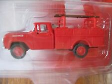 Classic Metal Works #30461 Ford 60 Utility Truck Monte Carlo Red HO- Scale