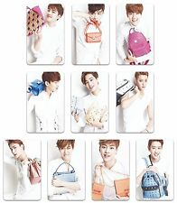 EXO K M fan blog mcm photocard set poster album Overdose luhan LOVE ME RIGHT