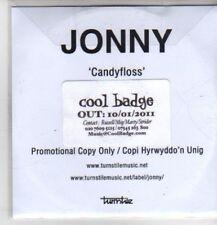 (CP913) Jonny, Candyfloss - 2011 DJ CD