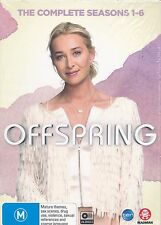 Offspring The Complete Seasons 1 - 6 One to Six DVD NEW 24-discs Region