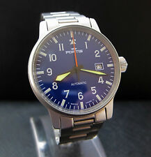Fortis Flieger Pilots Professional Date 25 Jewels Swiss Automatic Watch