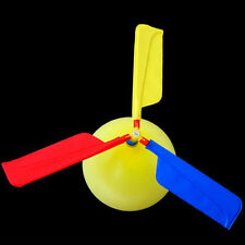 Balloon Airplane Aircraft Helicopter For Kids Child Bag Flying Toy Gift